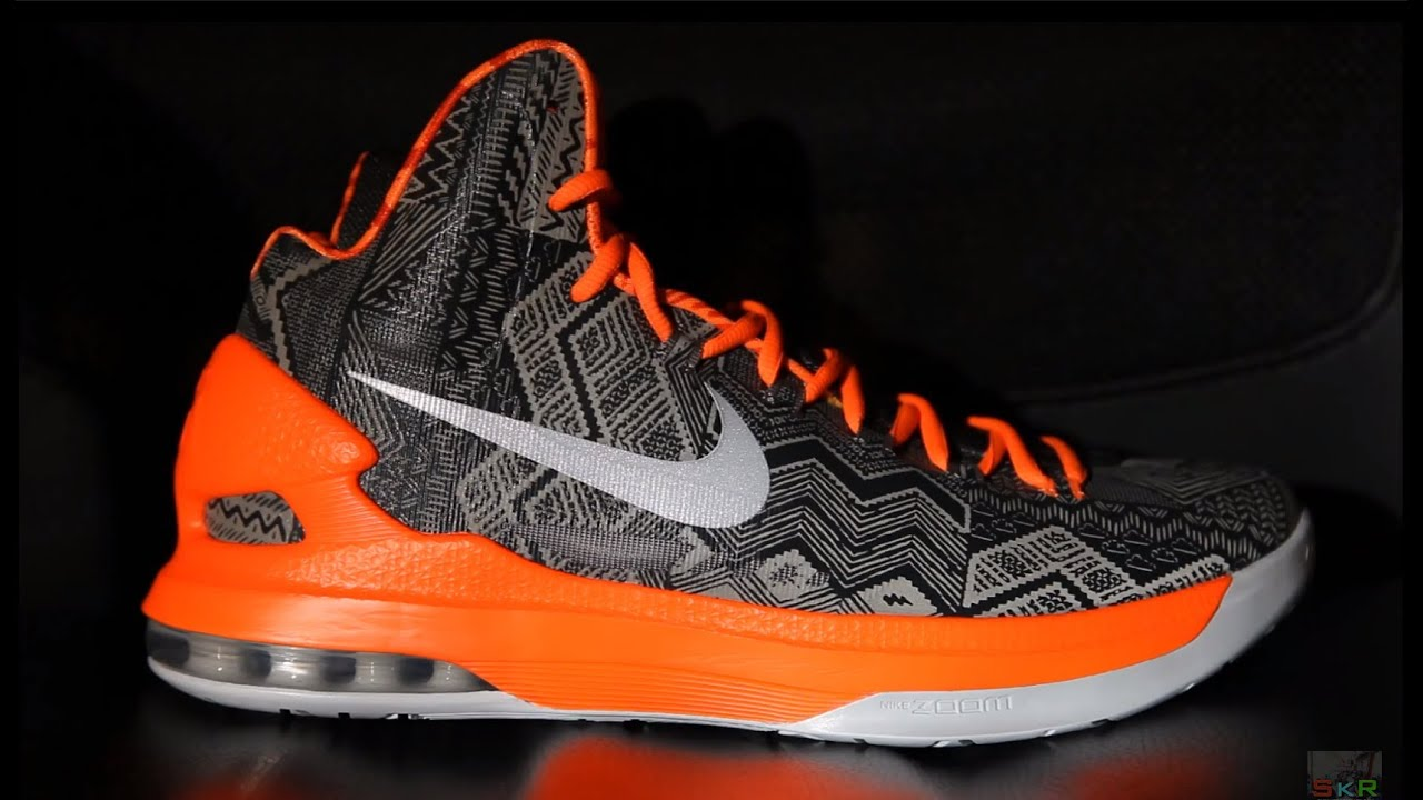 Nike KD 5 V BHM Black History Month [SkR HD] - YouTube