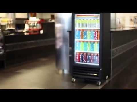 TRUE GDM-10-LD Beverage Merchandiser - YouTube on