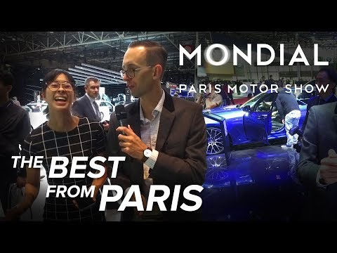 The Best Cars from the 2018 Paris Motor Show