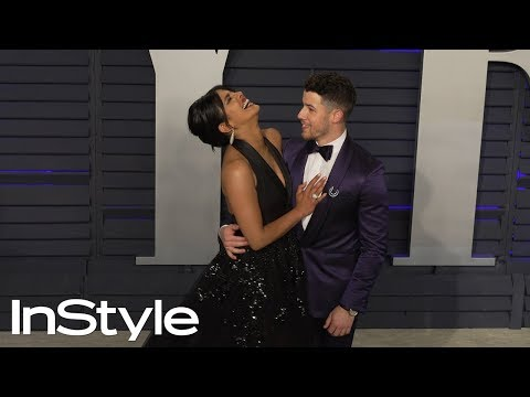 Priyanka Chopra and Nick Jonas at 2019 Vanity Fair Oscar Party | InStyle
