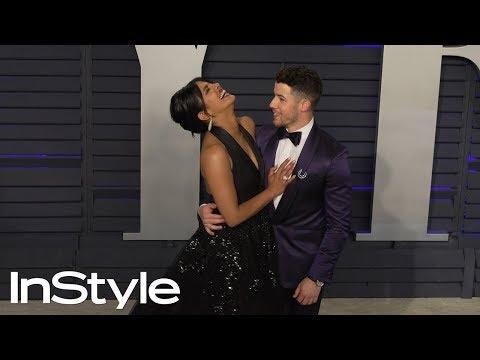 Priyanka Chopra and Nick Jonas at 2019 Vanity Fair Oscar Party | InStyle