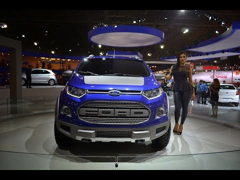 New Ford Ecosport Strom Body Sporty