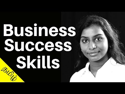 3 Must Have Skills For Business Success | Tamil Motivational Video