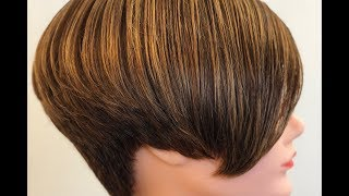 ShapeME - Hot Pixie Cut 1 Kombinierte graduierte Form mit Overlapping (Undercut Pixie Haircut)