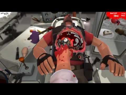 Прохождение Surgeon Simulator 2013 - Meet the Medic