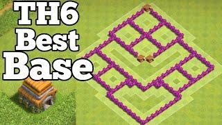 Clash of Clans - Town hall 6 (Th6) Base Farming _ Trophy/War/Hybrid Base coc