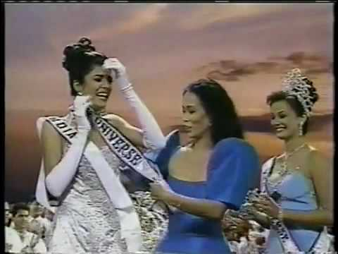 miss universe 1994 crowning youtube