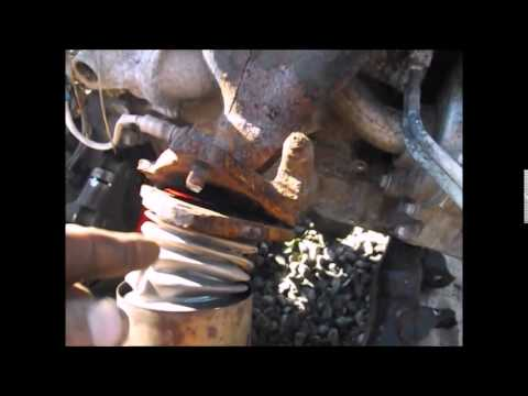 Saturn Vue 2 2 Ecotec Engine Exhaust Manifold Removal Youtube