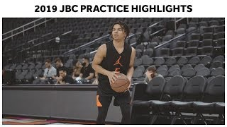 Cole Anthony, Cassius Stanley, and Class of '19 Full Jordan Brand Classic Practice Highlights