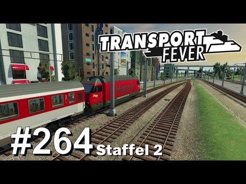 TRANSPORT FEVER S2/#264: Bahnhof strecken und neue Linie [Let's Play][Gameplay][German][Deutsch]