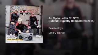 An Open Letter To NYC (Edited; Digitally Remastered 2005)