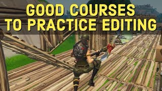 Get better at editing by practicing these courses - Fortnite Tips and Tricks