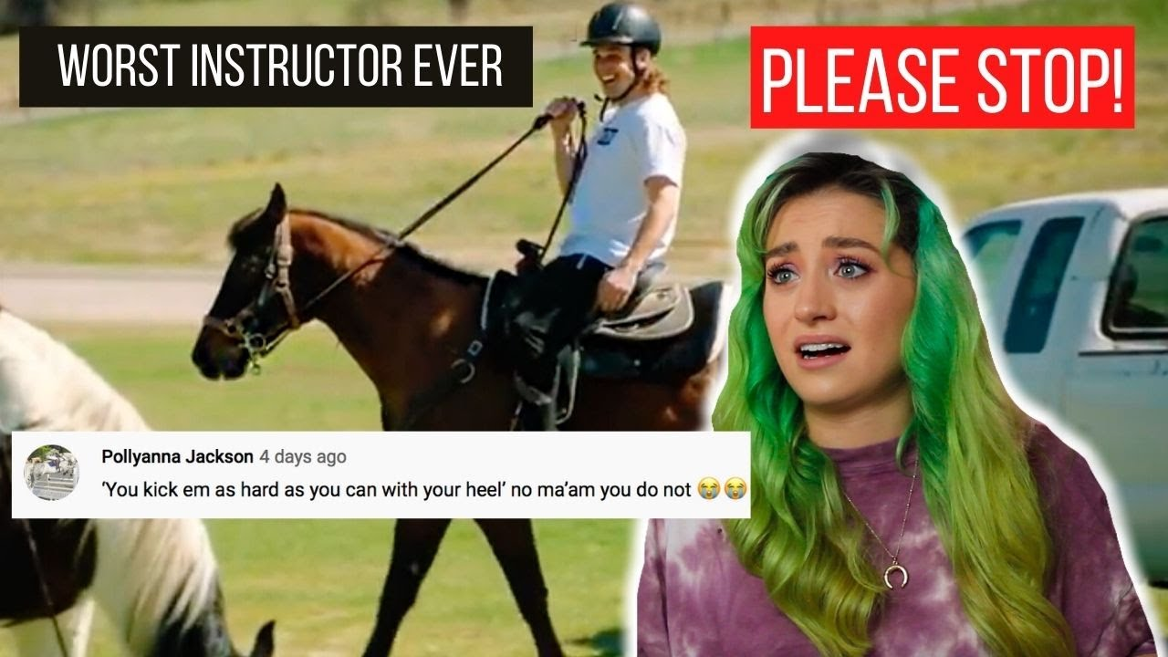 Equestrian Reacts To Cody Ko & Noels BAD Riding