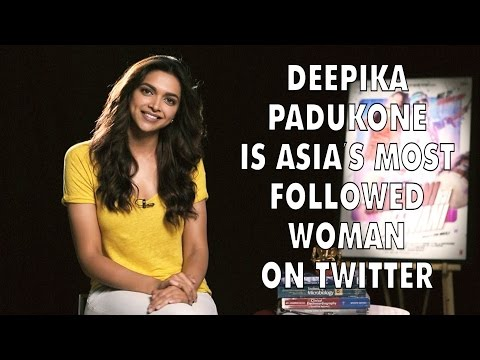 News today - Deepika Padukone Is Asia Most Followed Woman On Twitter