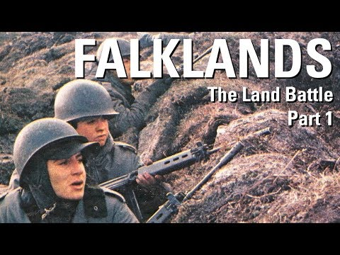 The Falklands War – The Land Battle Part 1 – The Landings