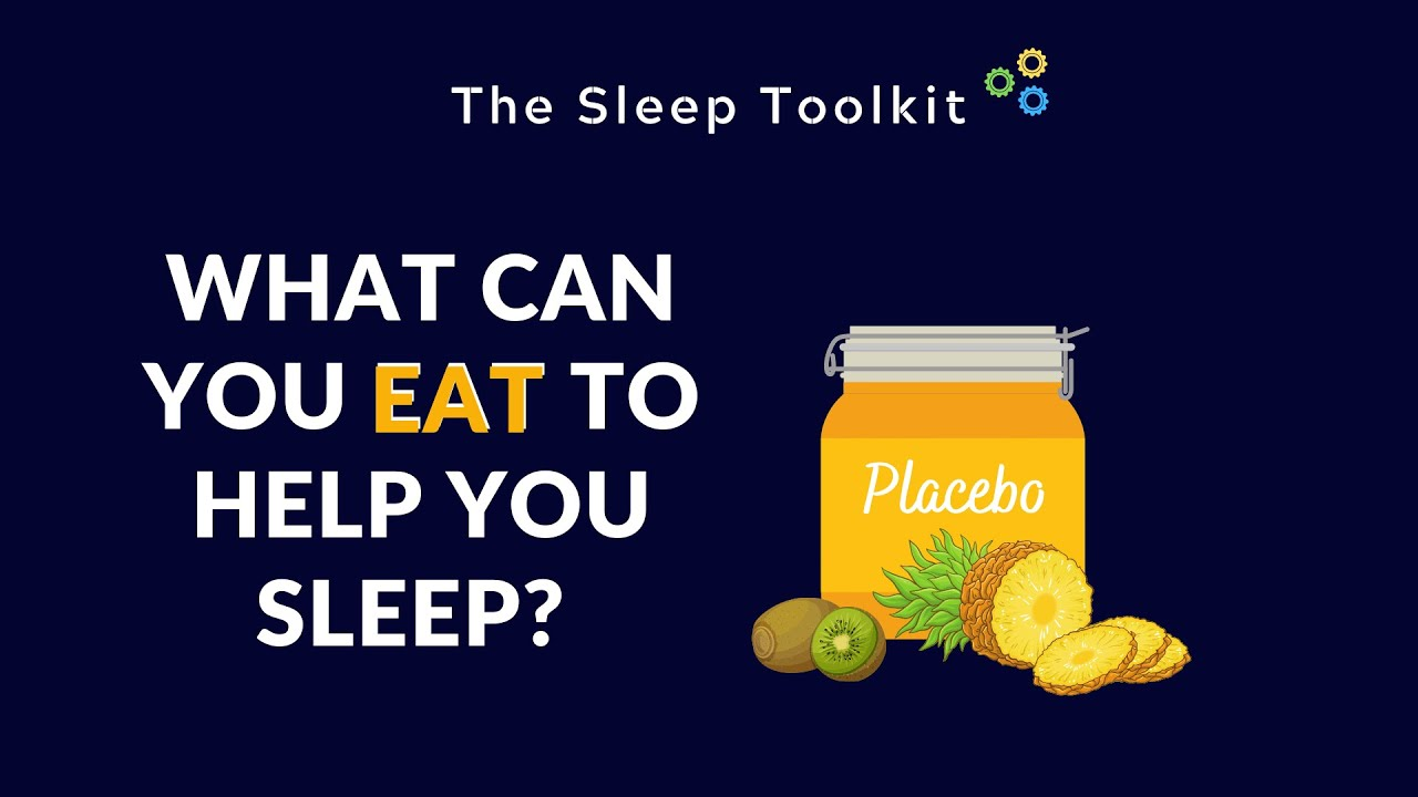 What can you eat to help you sleep?
