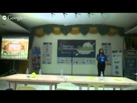 Startup Weekend Bohol Organizers Thanks the Sponsors