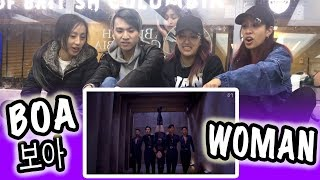 [KPOP REACTION] BOA 보아 -- WOMAN