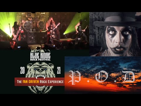 P.O.D./August Burns Red/Mushroomhead/Beartooth and more added to  'Blue Ridge Rock Festival' 2021!