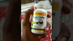 Green Coffee Bean Extract capsules hindi review
