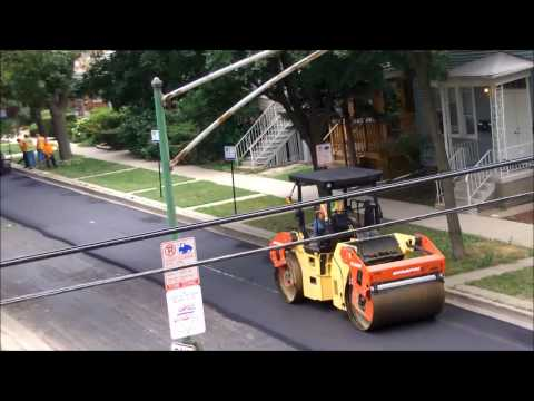 CDOT: Nelson Street Paving Job [8-5-2013]