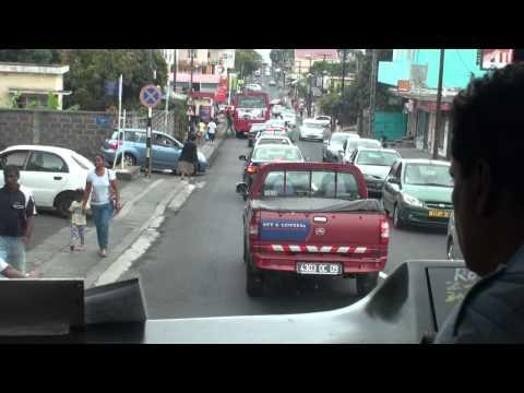 Bus Service in Mauritius-Travelling from Port Louis to Quatre Bornes 7