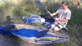 Надувная байдарка Challenger K1  Unboxing и испытания(, 2013-05-08T10:17:07.000Z)