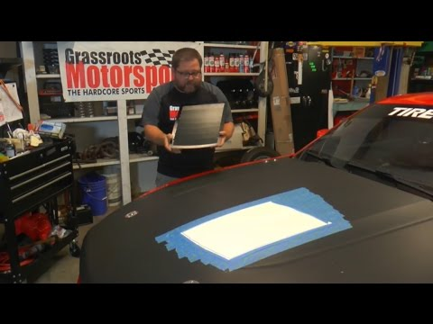 GRM Live: Installing Hood Vents On Our CAM Mustang GT