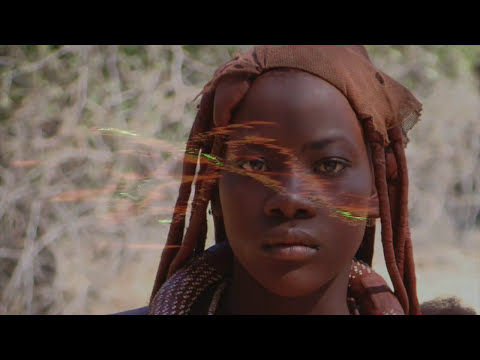 Himba pastori della Namibia