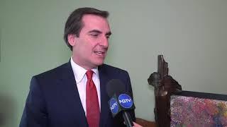 Ο Γερουσιαστής κ. Γιάναρης αποκλειστικά  στο Ngtv για την απομάκρυνση της Αμαζον