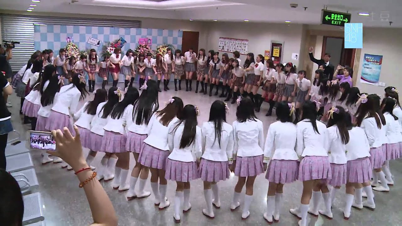 SNH48_SNH48 Election Concert - Cheering Backstage - YouTube