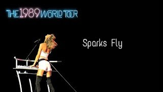 Sparks Fly (Acoustic) (Live 1989 World Tour) Audio
