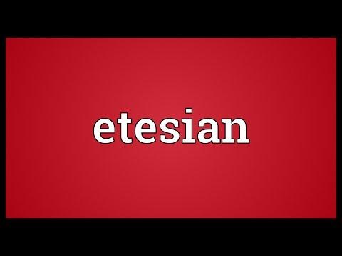 Header of etesian