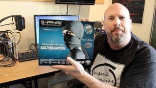 sapphire ultimate hd 7750 1gb gddr5 graphics card silent edition unboxing