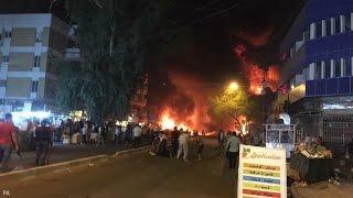 131 قتيلا وأكثر من مئة جريح في تفجيرين في بغداد