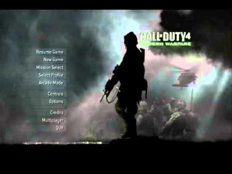 Borderlands 2 Wallpaper Hd Call Of Duty 4 Modern Warfare Menu Theme A Cappella