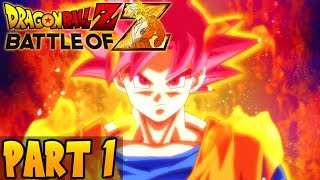 DragonBall Z: Battle of Z - Part 1 - Playthrough