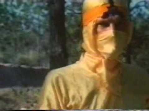 Dumb Movies - Ninja In The Killing Fields - How to disarm a teenage mutant ninja canetoad...