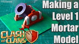 Level One Clash of Clans Mortar Model