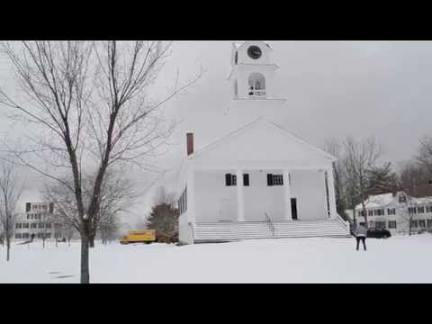 Bell Ringing for the 150th Anniversary of the End of the Civil War, Paris Hill, Maine