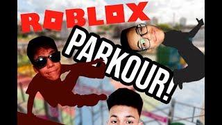 PARKUREIROS DO ROBLOX