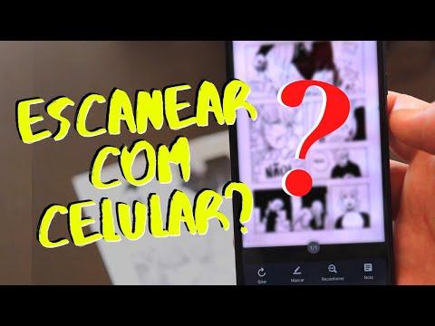 Como escanear suas páginas de quadrinhos com celular
