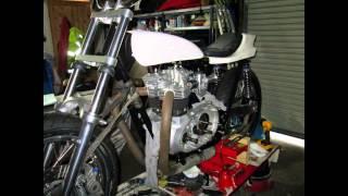 Building a Triumph Flat Tracker