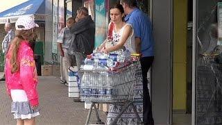 Donezk ohne Trinkwasser