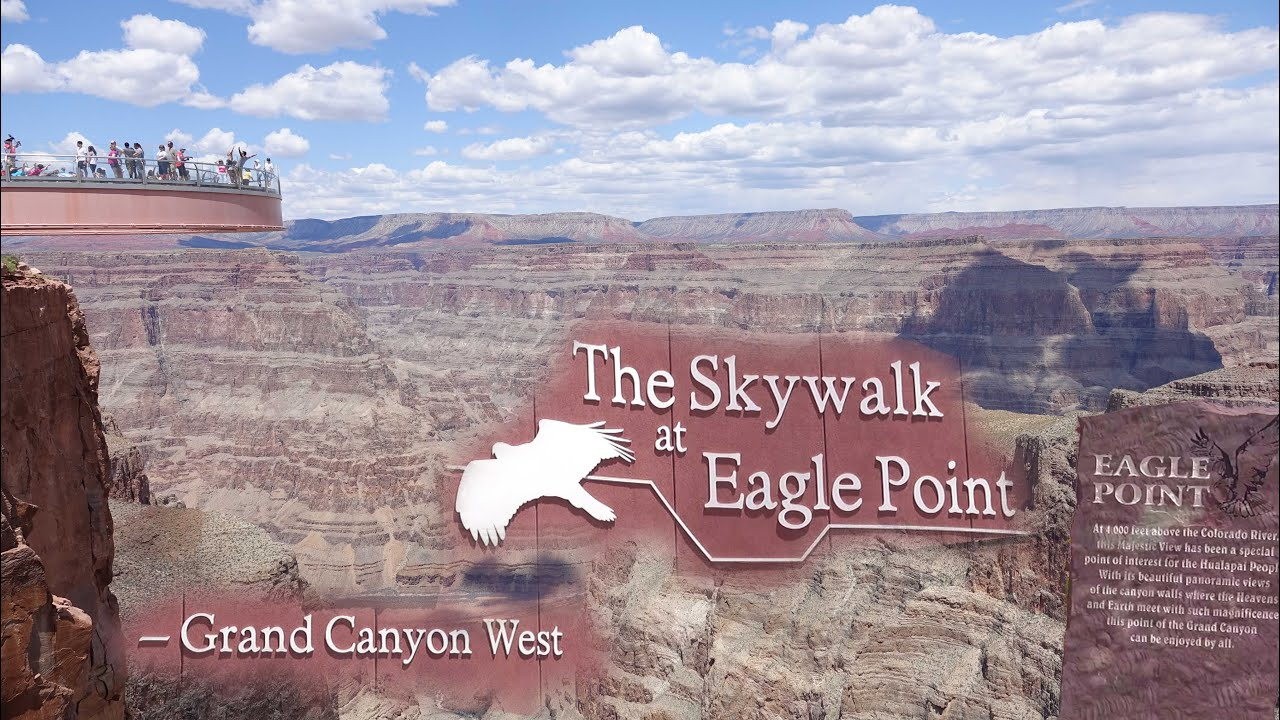 Grand Canyon Skywalk Eagle Point Grand Canyon West 4k