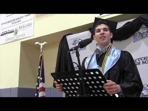2020 Valedictorian Speech: Alden Jerome of Hutchison High School