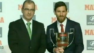 Футбол NEWS от 19.12.2017 (10:00) | Месси - лучший в Примере, Тейшейра выставлен на трансфер