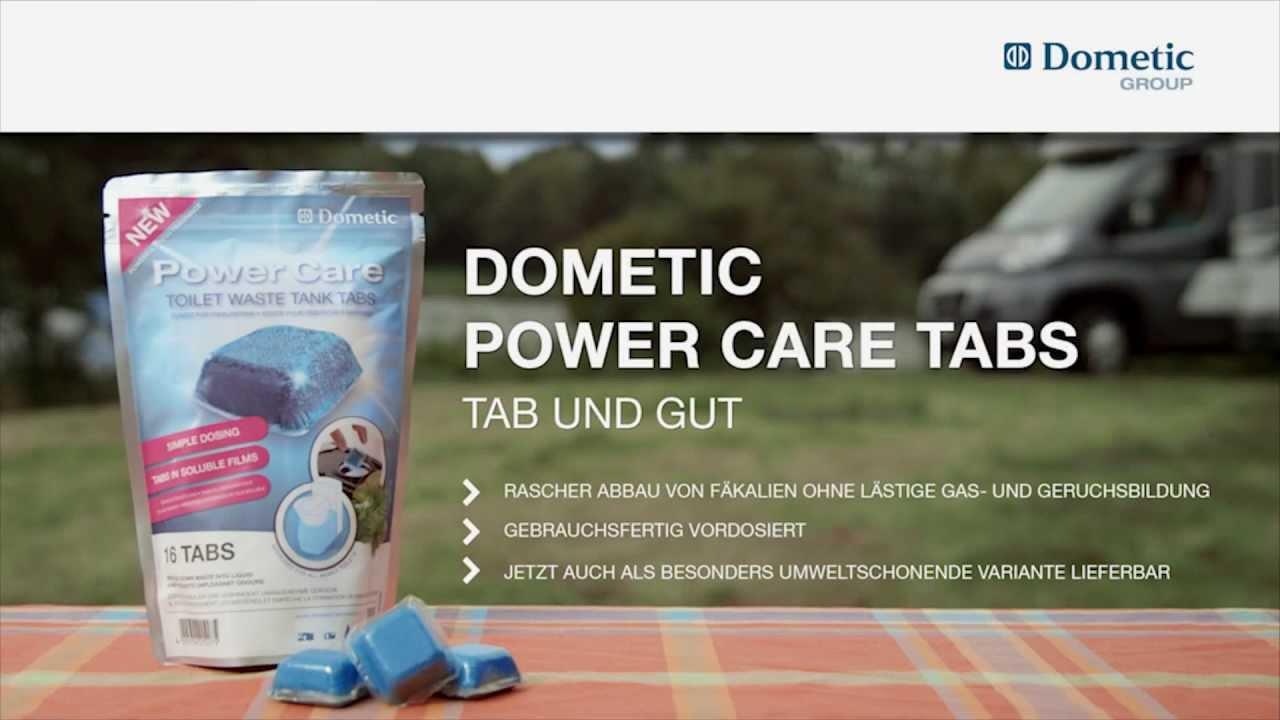20 Tabs für den Fäkalientank WAECO Dometic Power Care Tab WC Zusatz Wohnmobil