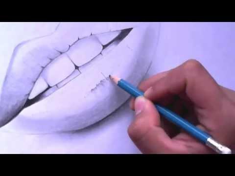 Como Dibujar Una Boca Labios Paso A Paso El Dibujante Full Download