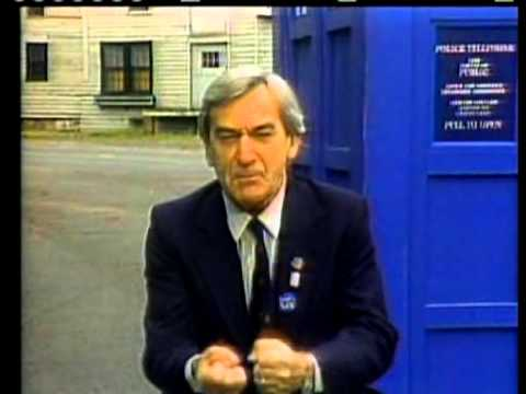 Doctor Who -  Patrick Troughton  - 1986 PBS NJN Commercial